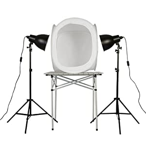PhotoSEL PPC146 Studio Lighting Kit for Product Photography