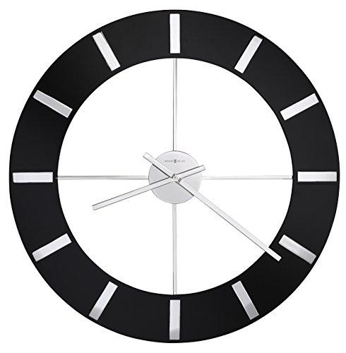 Howard Miller 625-602 Onyx Wall Clock