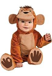 Rubie's Costume Cuddly Jungle Funky Monkey Romper Costume