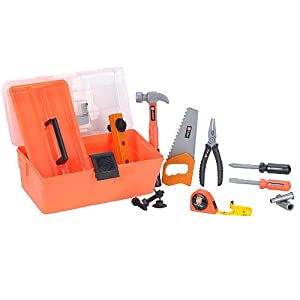 Home Depot Toy Tool Box Set for Kids