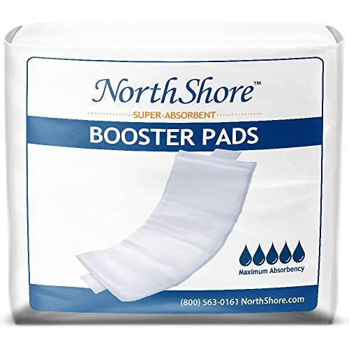 NorthShore Booster Pads with Adhesive, Medium, Pack/30