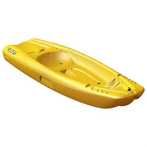 Pelican Solo Kayak Zum Draufsitzen (Kinder) - Gelb