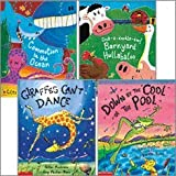 Rhyme and Repetition Collection (4 Books) (Commotion in the Ocean; Cock-a-Doodle-Doo! Barnyard Hullabaloo; Down by the Cool of the Pool; Giraffes Can't Dance) (0545306906) by Giles Andreae