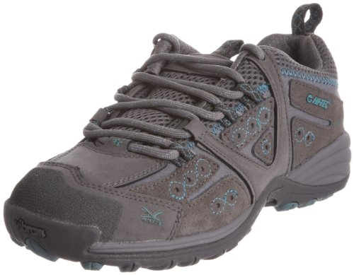 Hi-Tec Women's V-Lite Total Terrain Lace Hot grey/Aquamatic Hiking Shoe O001127/051/01 6 UK
