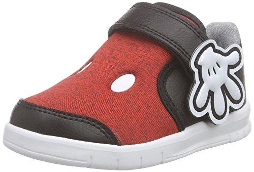 adidas - Disney M&M, Sneaker Bimbo 0-24, Rosso (Rot (Vivid Red S13/Eqt Yellow S16/Core Black)), 27
