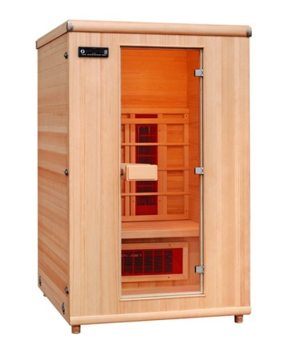 Sun Spirit Far Infrared Sauna, 2-Person, by Cedar Delite
