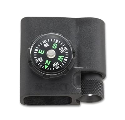 Columbia River Knife and Tool (CRKT) Columbia River Knife and Tool's 9700 Survival Bracelet Accessory Compass and LED by Columbia River Knife and Tool (CRKT)
