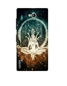 Premium Quality Mousetrap Printed Designer Full Protection Back Cover for LYF Wind 4