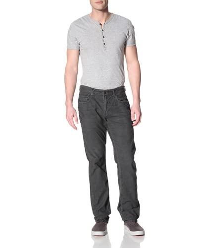 Kasil Workshop Men's Davidson Straight Corduroy Pants  [Anchor]