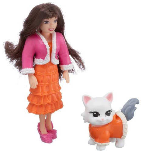 Buy Polly Pocket Totally Trend Pets Paw Pairs Figure