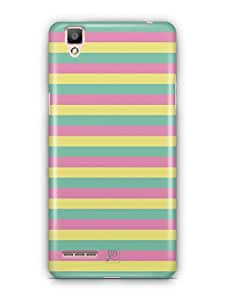 YuBingo Colourful Stripes Mobile Case Back Cover for Oppo F1