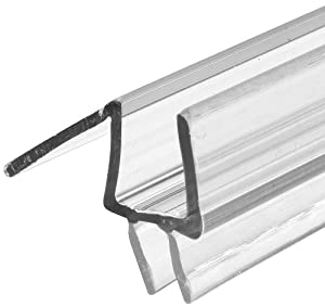 Prime-Line Products M 6258-1 Glass Door Bottom Seal, 3/8-Inch, Clear