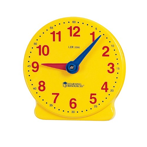 Learning Resources Big Time Student Clock (12 HR) - 1