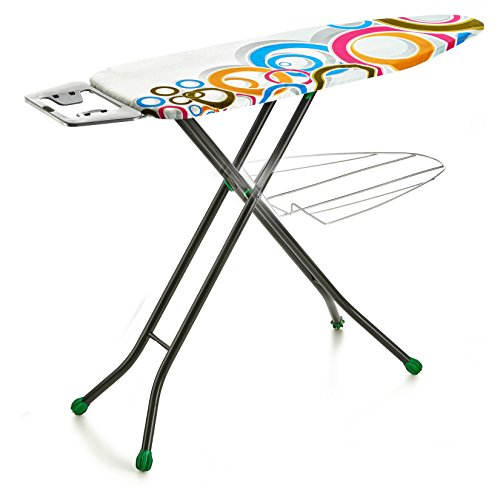Perilla Present LUX 4-Leg Aluminum Ironing Board with Heat Resistant Cloth Cover