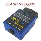 Mini ELM327 V1.5 Bluetooth Wireless OBD-II OBD2 Auto Car Diagnostic Scan Tool: Amazon.co.uk: Car & Motorbike