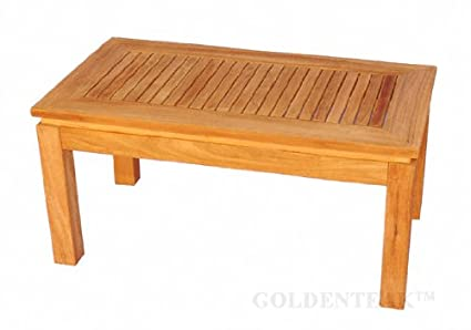 Teak Rectangular Coffee Table 6062