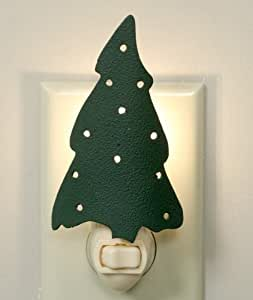 Wall Heath Christmas Lights Switch On : Amazon.com - Green Christmas tree night light with switch and wall plug in. - Night Light Horse ...