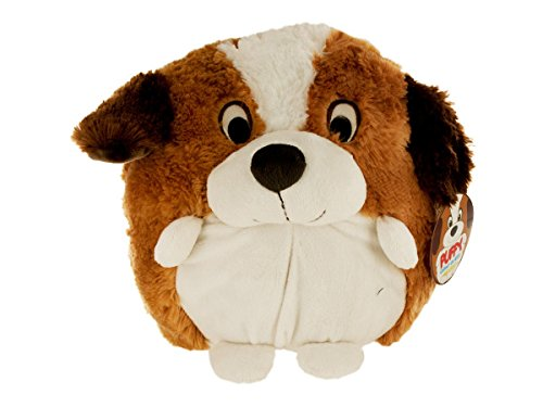 bulk buys Puffy Plush Saint Bernard Toy - 1