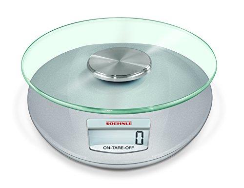 Soehnle 2046528 Roma Balance de Cuisine Electronique Plastique 19 x 16 x 3,5 cm