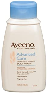 Aveeno Anti-Itch Advanced Care Body Wash, 10-Fluid Ounce Bottles (Pack of 2)