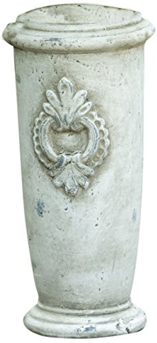 Your Hearts Delight 12 by 4-3/4-Inch Medallion Pottery Vase, Large