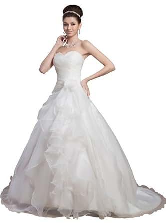 Herafa Wedding Dress Elegant NOw35619 Amazon Fashion