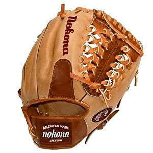 Nokona Buffalo Combo Baseball Glove Modified Trap 11.5 Inch (Right Handed Throw)
