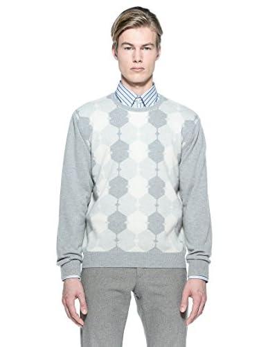 Bramante Pullover Intarsio Puro Cashmere Francis [Grigio]