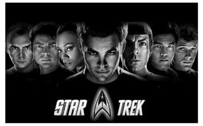 Star Trek Movie (Group) Poster Print - 11x17