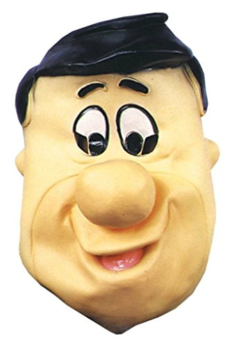 Fred Flintstone Cartoon Deluxe Party Latex Adult Halloween Costume Mask