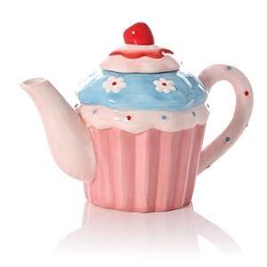 Junction 18 Pink Parlour Teapot