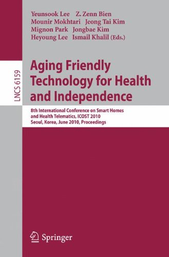 Aging Friendly Technology for Health and Independence: 8th International Conference on Smart Homes and Health Telematics, ICOST 2010, Seoul, Korea, June 22-24, 2010, Proceedings