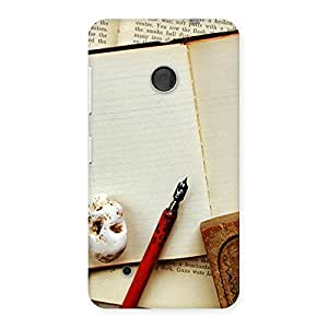 Stylish Little Diary Multicolor Back Case Cover for Lumia 530