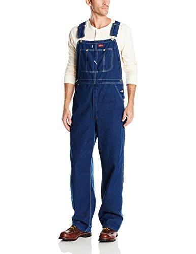dickies-bib-overall-pantalones-para-hombre-tamano-34-32-color-indigo-desgastado