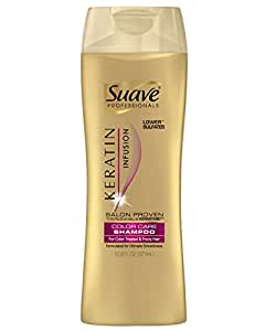 Suave Professionals Shampoo, Keratin Infusion Color Care 12.6 oz Pack of 6