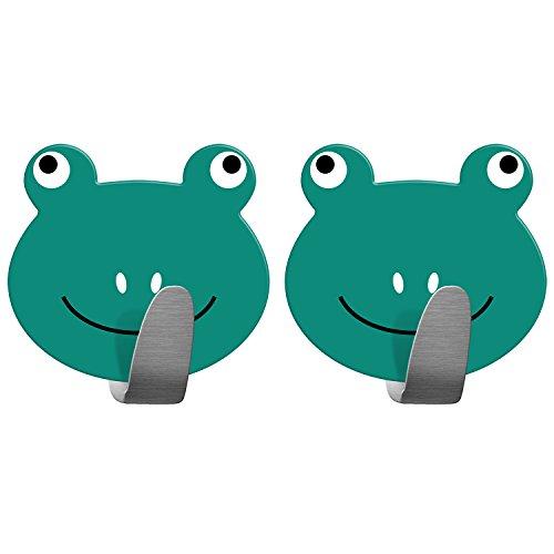 tatkraft-frogs-2-ganci-appendiabiti-autoadesivi-acciaio-inox