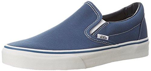 Vans U CLASSIC SLIP-ON NAVY VEYENVY - Zapatillas de lona para unisex-adultos, Azul, 46