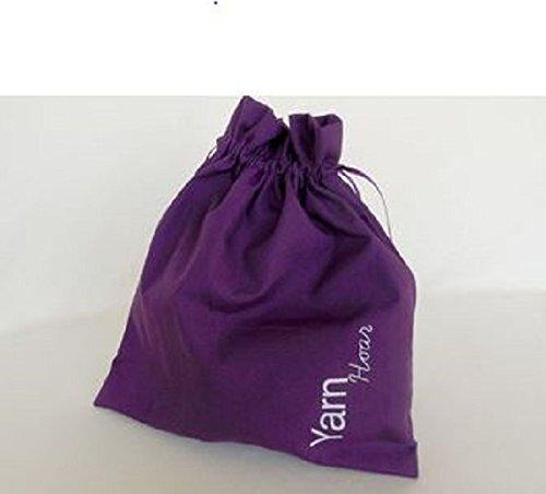 Della Q Edict Project Bags (#118-1) Yarn Hoar-Purple from Della Q