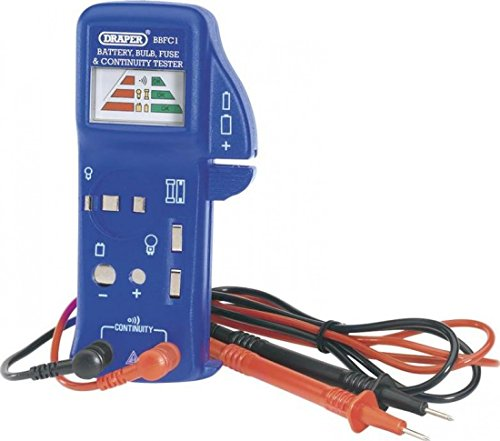 Draper 57574 Battery Bulb Fuse And Continuity Tester
