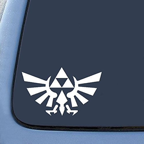 "Bargain Max Legend of Zelda Sticker Decal Notebook Car Laptop 6"" (White)"