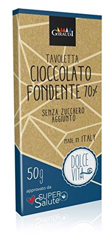 Dolce Vita Cioccolato Fondente 70% - 50 gr