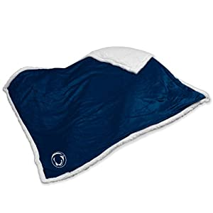 NCAA Penn State Nittany Lions Sherpa Plush Blanket by Logo