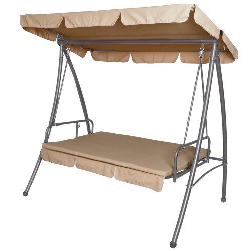 Miadomodo copertura telo di protezione per dondolo da giardino hwskl06 - Dondolo da giardino reclinabile ...