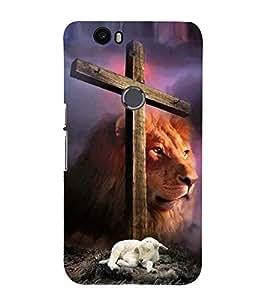 Vizagbeats catholic cross Back Case Cover for Huawei Google Nexus 6P