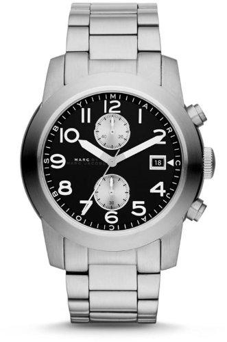 Marc Jacobs MBM5050 - Reloj para hombres, correa de acero inoxidable color plateado