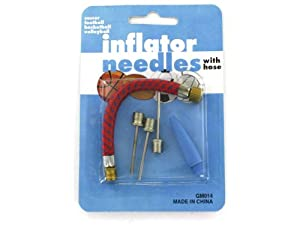 Inflating needles with hose (Case of 72) by bulk buys