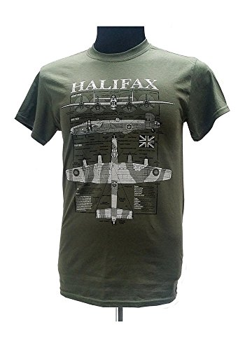 handley-page-halifax-heavy-bomber-british-aircraft-military-t-shirt-with-blueprint-design-large