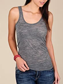 Heather Burnout Tank