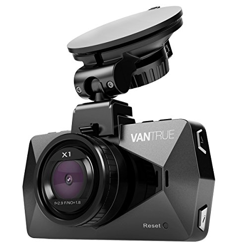"Vantrue X1 Car Dash Cam - Full HD 1080P 1920x1080 Dash Cam 170° Wide Angle 2.7"" LCD In Car Dashboard Camera DVR Video Recorder with G-Sensor, Parking Mode, HDR & Super Night Vision"