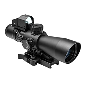 NC Star Gen-2 Mil-Dot Ultimate Sighting System, 3x-9x 42mm, Black by NC Star